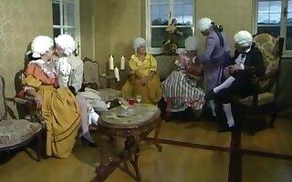 18th century orgy