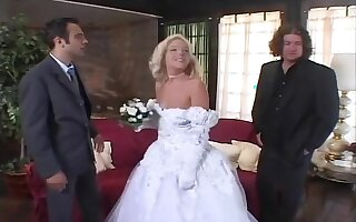 Whore Wife Fucks Two Guys After Wedding