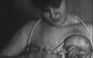 Retro Porn Archive Video: Femmes seules 1950's 03