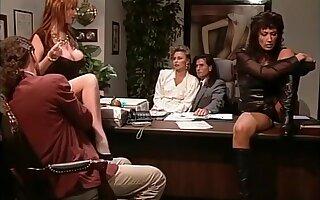 Horny pornstar Sarah Jane Hamilton in fabulous redhead, vintage adult video