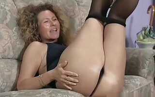 Mature couple is having outstanding sex