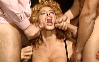 Milly d'Abraccio_Vintage italian Milf Double penetration compilation