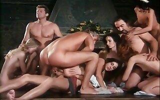 Renaissance Themed Porno With Very Sexy Orgy