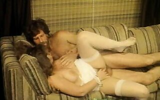 Buxom brunette Heather Thomas gets banged by her husband Paul Thomas