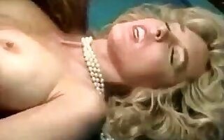 Hairy puss vintage blonde fucked