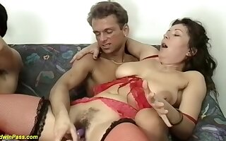 Real Chubby Anal House Party