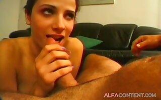 Hot Well-endowed Brunette Deep Throats - Chloe Adams